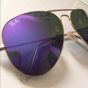 Ray-Ban Purple lenses 3026 62mm